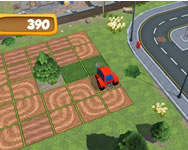 Tractor puzzle farming online